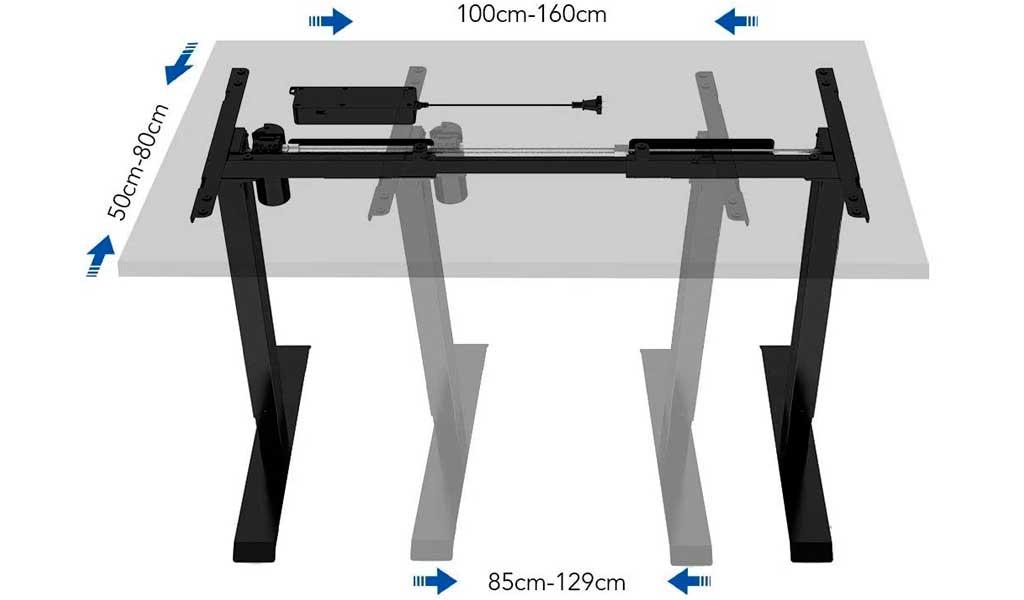 medidas mesa motor altura ancho