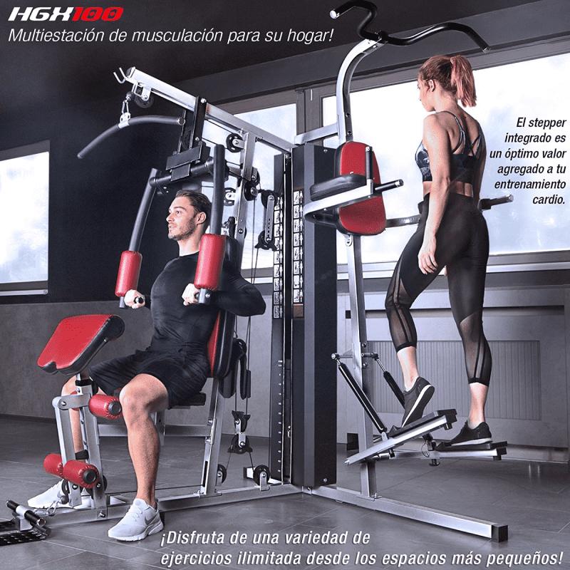 multiestacion de musculacion y cardio Sportstech HGX200